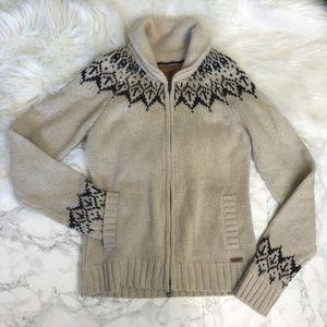 Roots Alpine Zip Cardigan Sweater